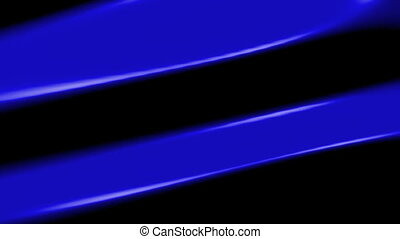 Blue on black abstract animated looping background