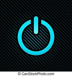 blue on color button