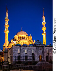 Blue (or Sultan Ahmed) Mosque in Istanbul, Turkey