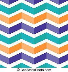 blue orange violet geometrical Leporello stripes element style moder vector abstract background