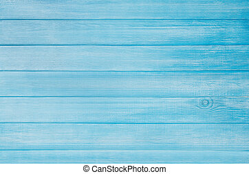 Blue painted pastel wood planks background with visible texture