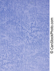 Blue paper texture isolated on white background