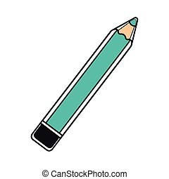 Blue pencil icon