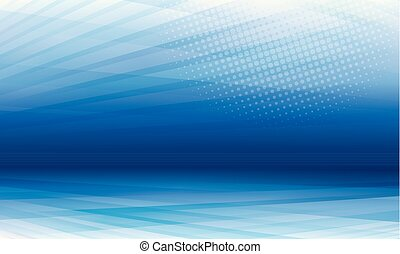 Blue Perspective Modern Abstract Background