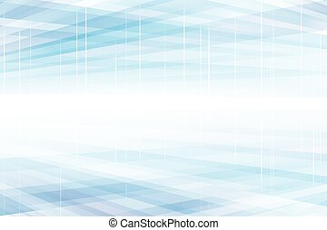Blue Perspective Structure Modern Abstract Background
