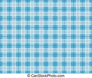 Blue Picnic Blanket