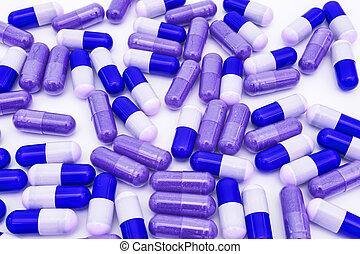 Blue pills