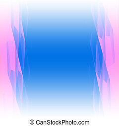 Blue - Pink Abstract Background