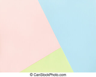 Blue, pink and green Pastel color background