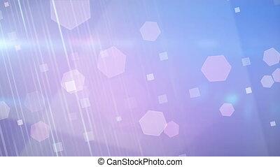 blue pink glares loop background
