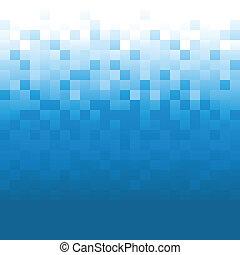Blue Pixel Background