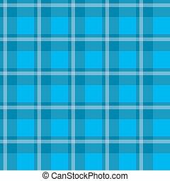 Blue plaid fabric - Sample pretty seamless bright blue...