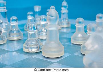 blue pohár, sakkjáték, háttér