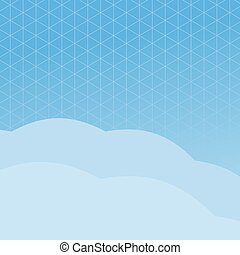 blue poligonal background
