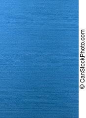 Blue polished aluminium texture background