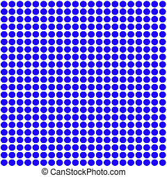 Blue Polka Dot pattern background