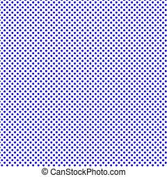 Blue polka dots pattern