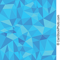 Blue polygonal background vector