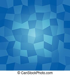 blue polygonal vector background