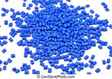 blue polymer resin - blue synthetic material for plastic...