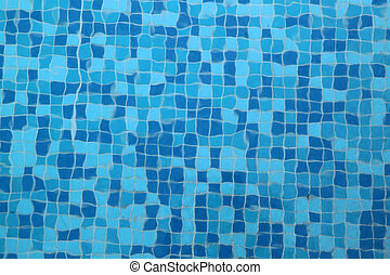 Blue pool water texture
