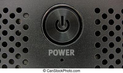 Blue Power Switch