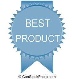 blue product deal badge