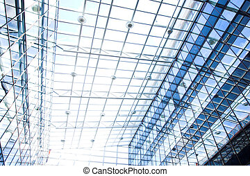 Blue protection ceiling