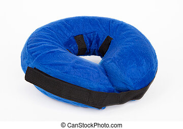 Blue protection collar