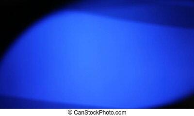 blue pulsating background