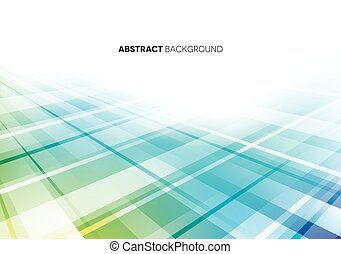 Blue & Purple Abstract Background with Lines
