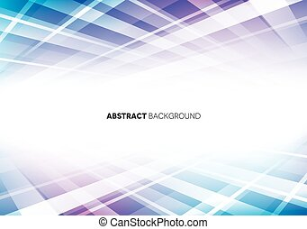 Blue & Purple Abstract Background