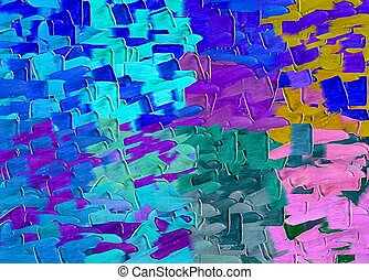 blue purple pink and brown painting texture abstract background