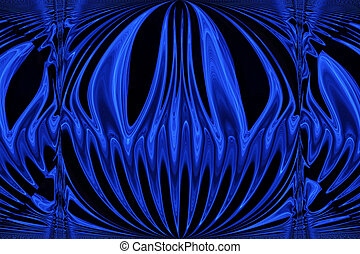 Blue Ray - An image of blue light blended and edited in ...