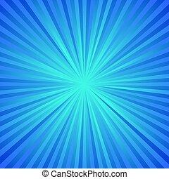 Blue ray burst background - gradient vector design - Blue ...