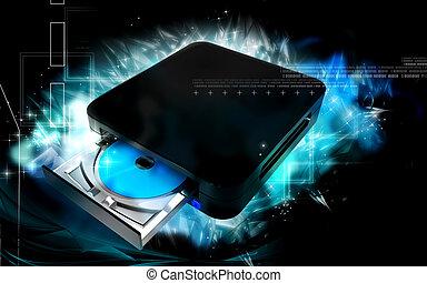 Blue ray device