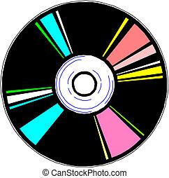 blue-ray, dvd, o, disc., cd