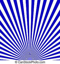 Blue ray pattern background