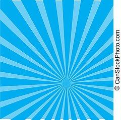 Blue Rayburst background
