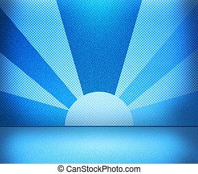 Blue Rays Room