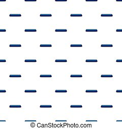 Blue rectangular button pattern