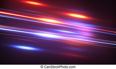 blue red glowing stream abstract techno background