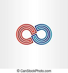 infinity symbol icon design