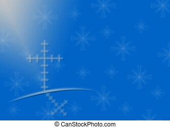 Religious Christmas background