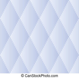 Blue Rhombus Seamless Pattern