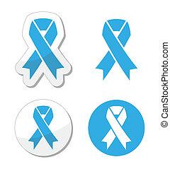 Blue ribbon - prosate cancer