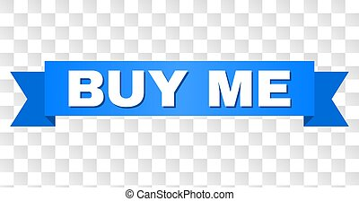 Blue Ribbon with BUY ME Title