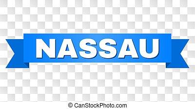 Blue Ribbon with NASSAU Caption