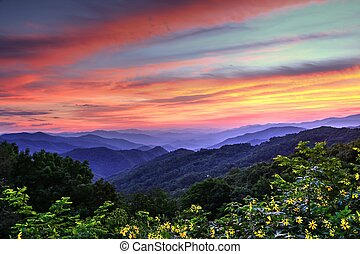 Blue Ridge Mountain Color