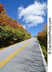 Blue Ridge Mountain Road